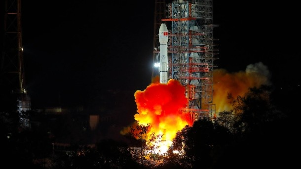 Chang'e-4 Lunar probe is on its way to the moon