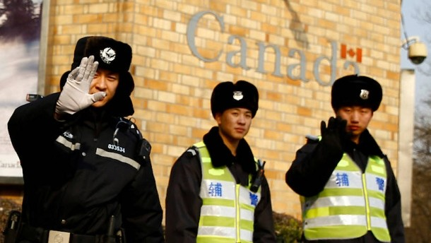 Canadian government demands immediate release of citizens detained in China