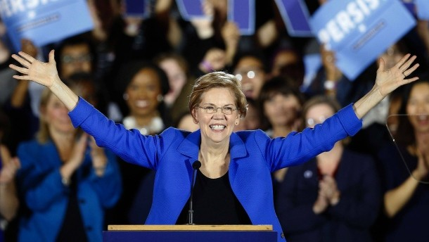 Elizabeth Warren takes first steps towards 2020 run for the White House