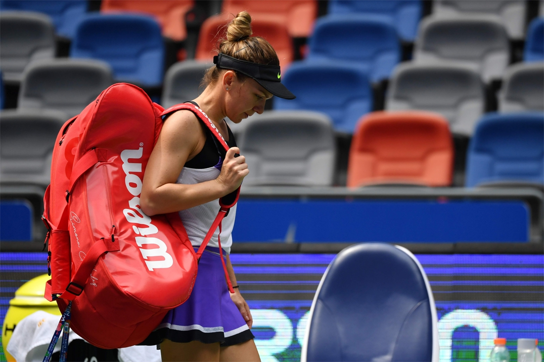 Battling Barty reaches Wuhan quarters, Pliskova out