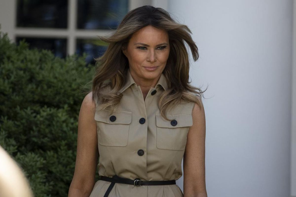 Melania Trump delayed Whitehouse arrival to renegotiate prenuptial deal