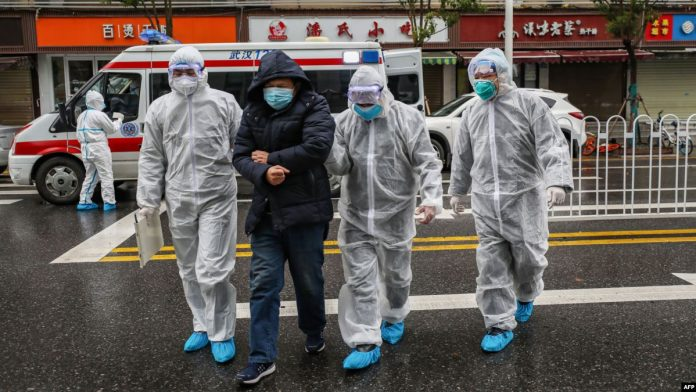 The death toll from the coronavirus in China exceeded 100